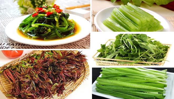 春天多吃五种蔬菜,尝鲜还养生!
