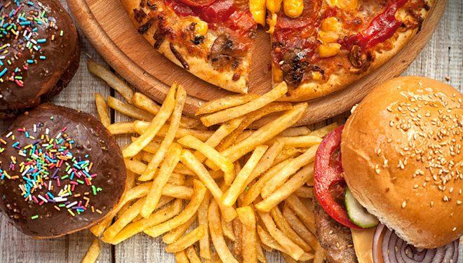 压力大时吃垃圾食品更易变胖