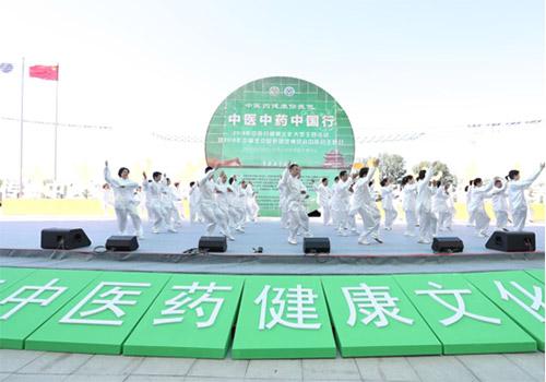 2019年中医药健康文化大型主题活动开幕