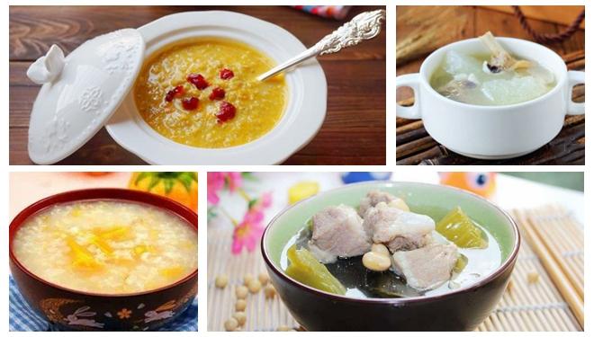 常吃这些食物摆脱湿气纠缠 四款粥汤最消暑