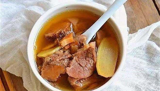 当归生姜羊肉汤这可是个名方