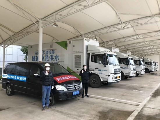 碧水源紧急救援供水车投入使用为武汉提供安全供水保障