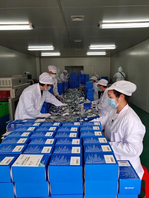 運鴻集團捐贈復工后生產的首批防疫物資