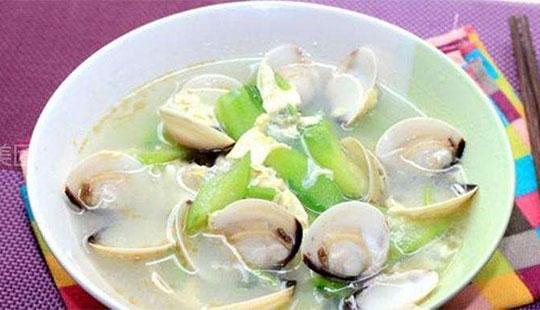夏季是吃瓜的季节 推荐丝瓜白贝汤