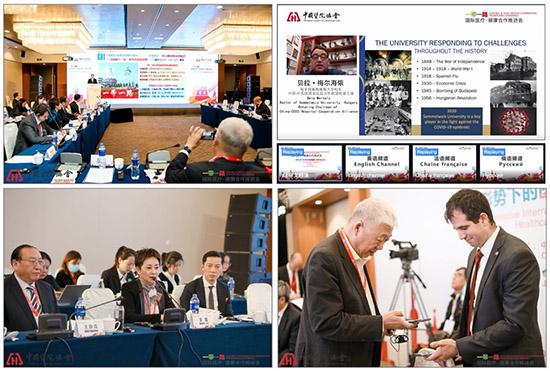 """""""一带一路""""国际医疗·健康合作推进会在南京举办"""
