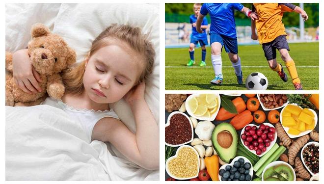 饮食+睡眠+运动,助力孩子长个儿