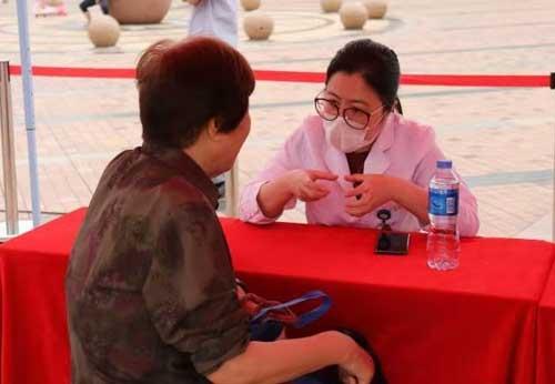 """人民网・人民健康""""人民健康社区""""走进广州华南新城社区"""