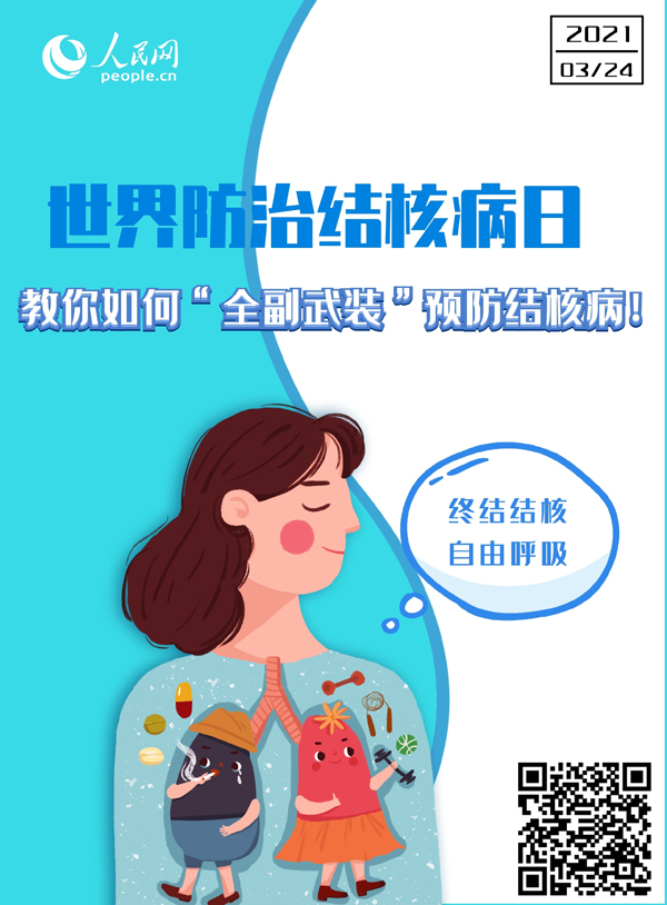 "世界防治結(jie)核(he)病日(ri)︰教(jiao)你如何(he)""全副武裝""預(yu)防結(jie)核(he)病!"