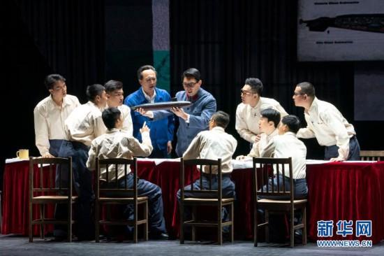 大型话剧《深海》在武汉上演