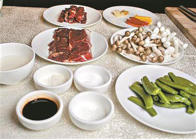 春来吃牛肉两道牛肉菜美味又健康